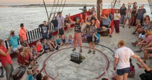 Activities on The Sea Dragon Pirate Ship in Panama City Beach!