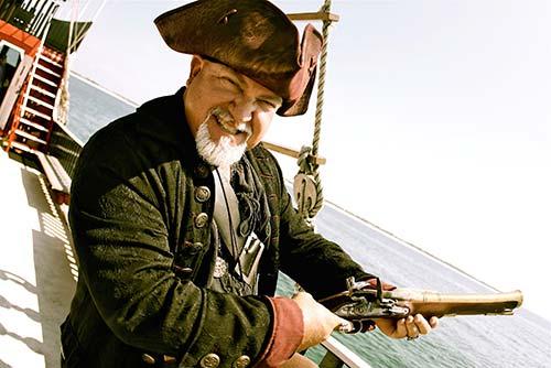 Captain of the Sea Dragon in Panama City, Beach!