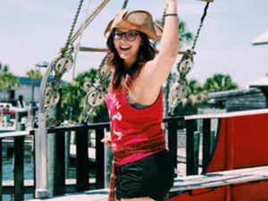 The Crew of The Sea Dragon Pirate Cruise in Panama City Beach, Florida