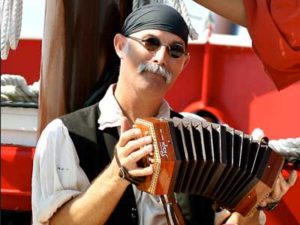 Stash is a crew member of the Pirate Cruise in Panama City Beach